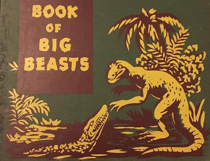 Vintage Dinosaur Art: Book of Big Beasts