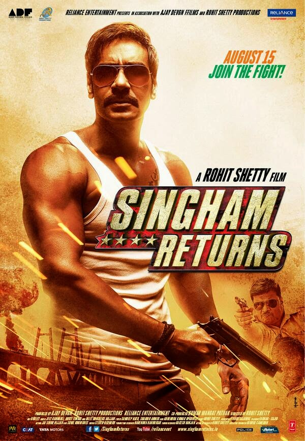 Singham Returns 2014 Theatrical Trailer HD 720p