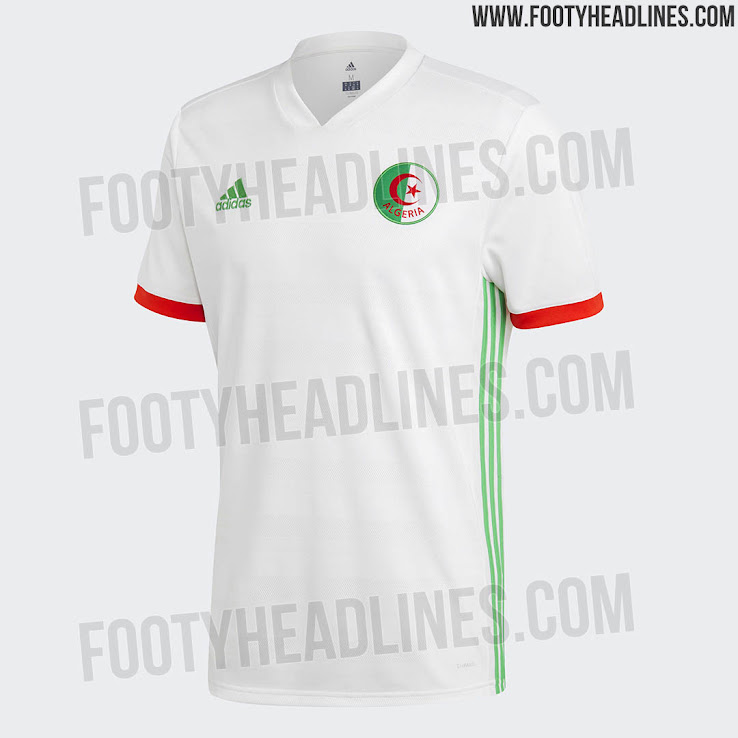 2a2bddd59 Adidas Algeria 2018 Home Kit Released + Away Kit Leaked - Footy ...