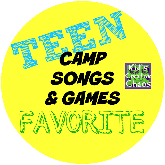 Circle Activities and Games for Teens and Middle School