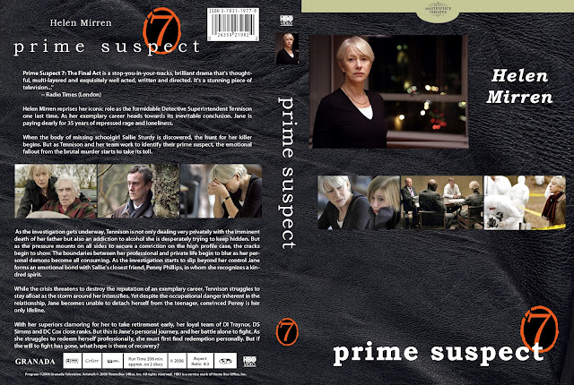 Prime Suspect 7: The Final Act  DVD Cover