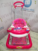 Baby Walker Family FB1815LD Rolex Pink