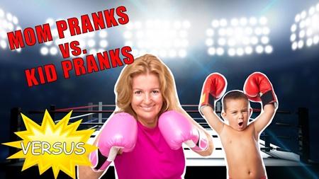 Mom Pranks vs. Kid Pranks | The Ultimate Battle