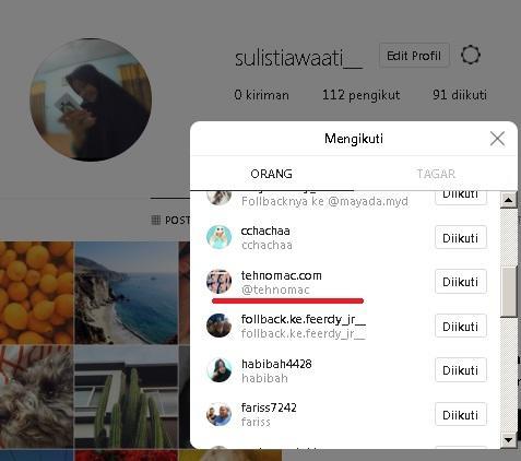 masuk instagram jika lupa kata sandi tehnomac
