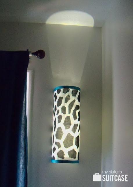 Ikea Bag Holder To Diy Light Fixture My Sister S