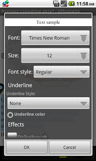 OfficeSuite Font Pack