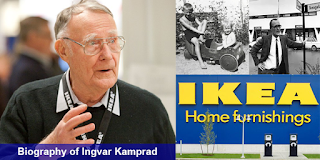 Biography of Ingvar Kamprad – IKEA Founder's successful Simplicity