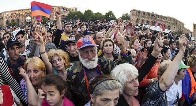 """Armenia, el """"país del año"""" según The Economist"""