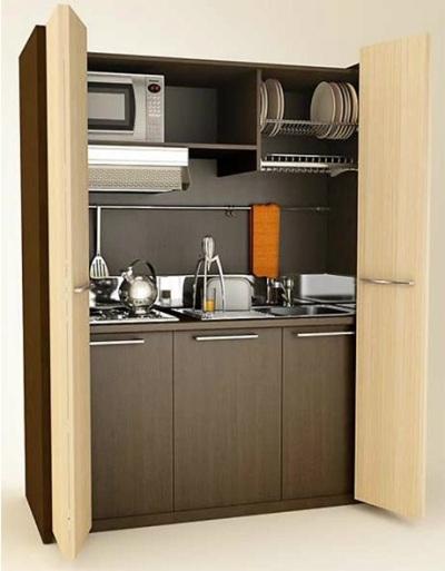 Mini kitchen by Mobilspazio Contract