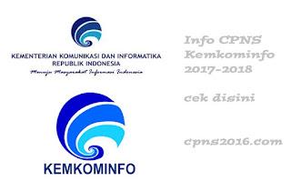 cpns kemkominfo 2017-2018
