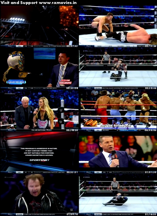 WWE Thursday Night Smackdown 17 March 2016 HDTV 480p