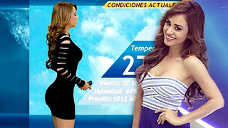 Top 10 Hottest Weather Females in the global world