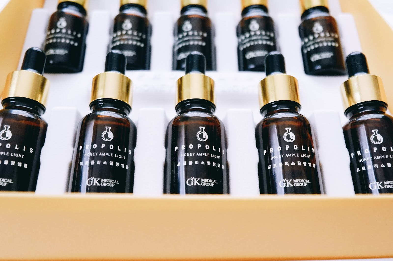 How The Propolis Honey Ampule Light Improved My Skin Modern Gold Evens Out Your Tone Possible Whitening Effect
