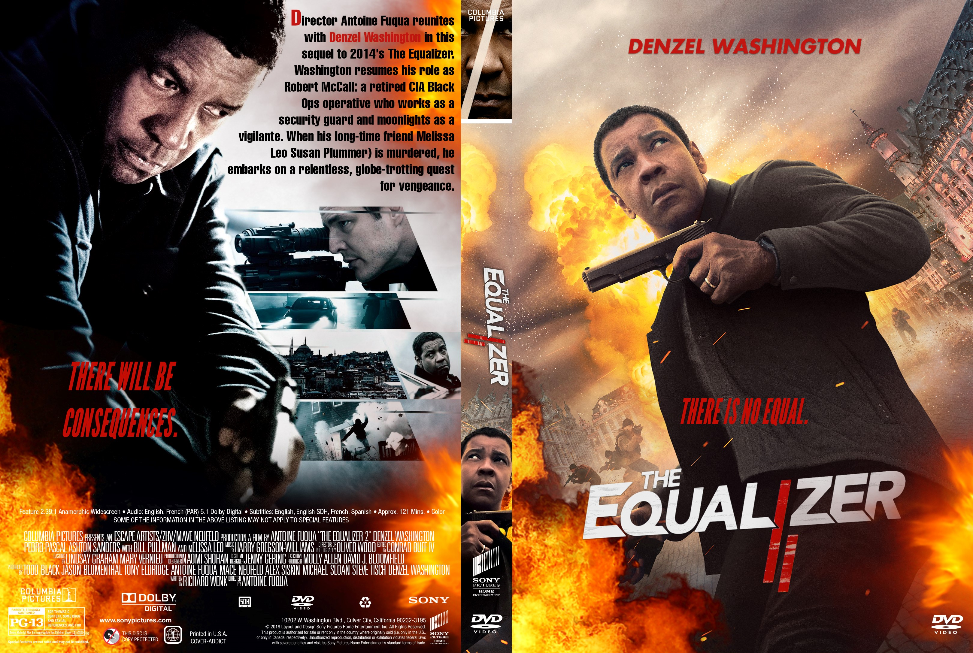 The Equalizer 2 Dvd
