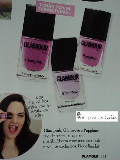 revista; revista glamour; agosto de 2013