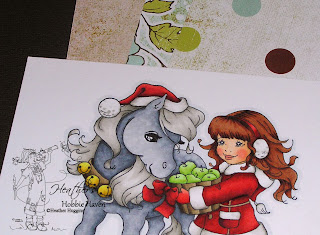 Heather's Hobbie Haven Christmas Pony Card Kit