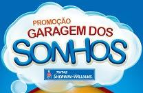 Participar Promoção Garagem dos Sonhos Tintas Sherwin-Willians