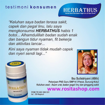 obat herbal asam urat herbathus nasa