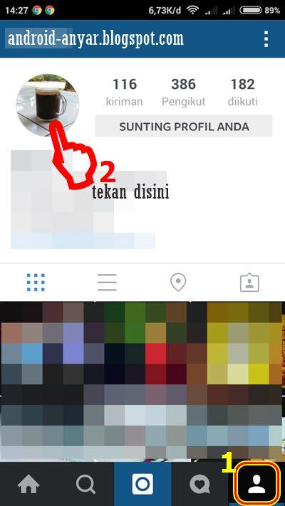Cara Ganti Foto Profil Instagram yang Tidak Bisa Diganti