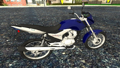 Titan 150  (LOW POLLY) para GTA San Andreas, GTA SA, Gta san