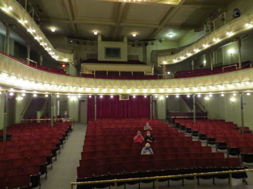 interior of the Ramsdell Theater, Manistee, Michigan
