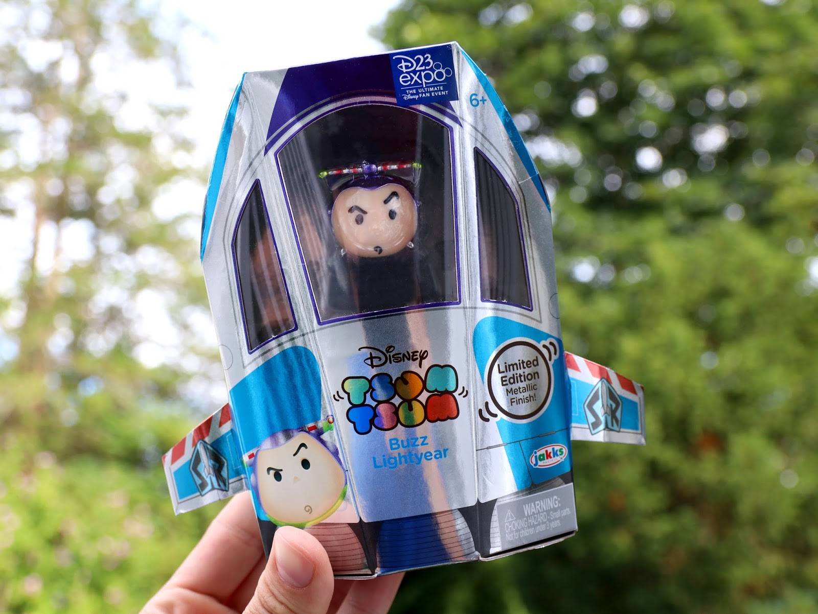 D23 Expo 2017 Exclusive Buzz Lightyear Tsum Tsum Metalic Finish