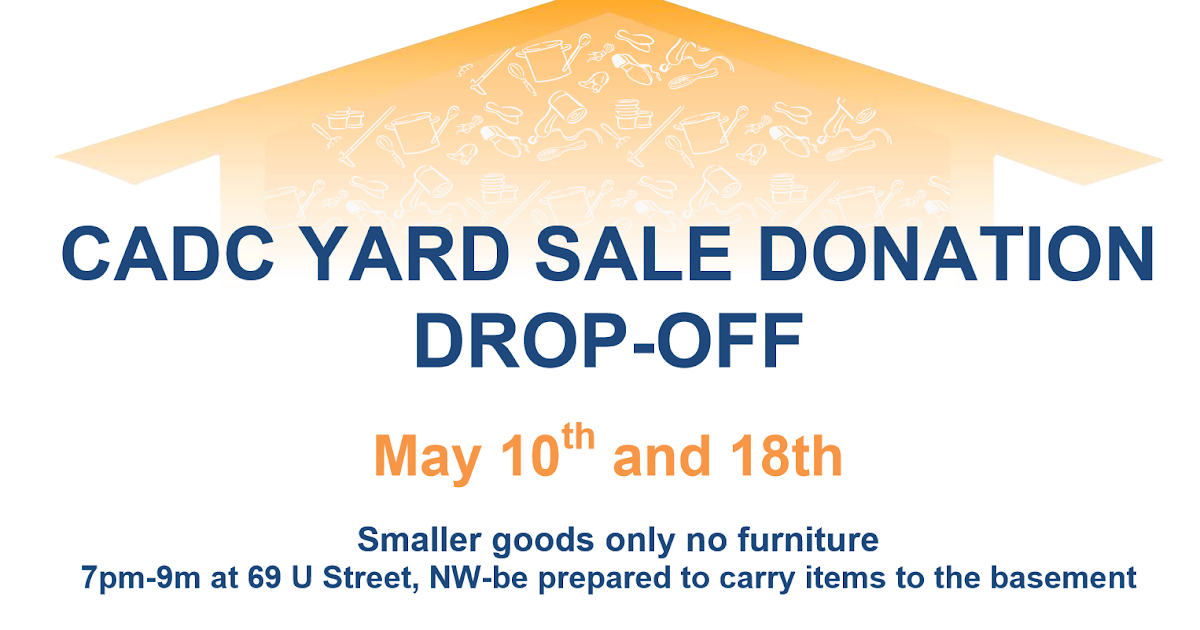 Bloomingdale Drop Off Your Donations For The Crispus Attucks Park Community Yard Sale On 05