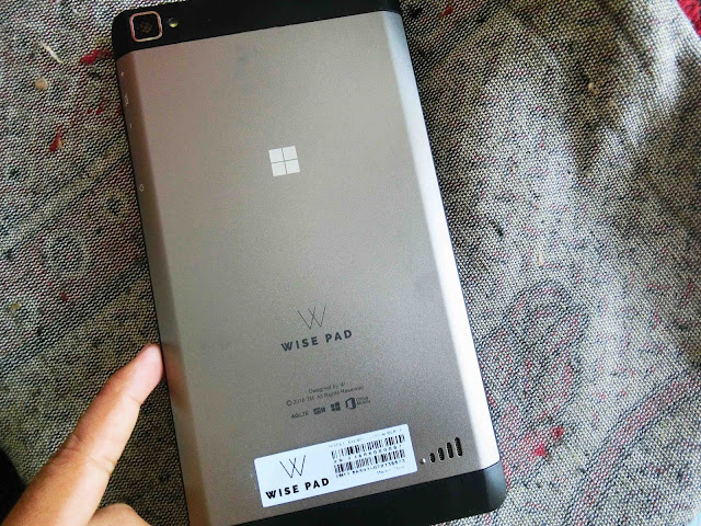 Menang Hadiah Microsoft Wise Pad W7 Dari InvolveAsia