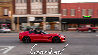 Chevrolet C7 Corvette Red