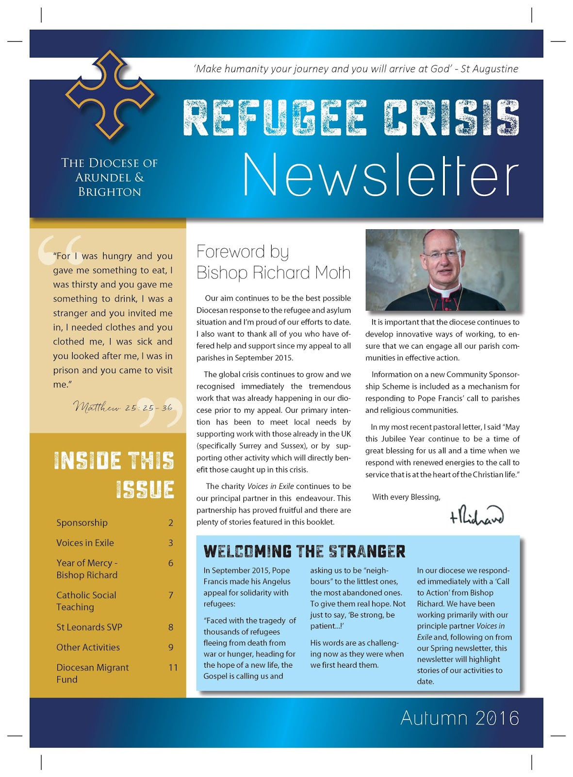 A&B News Blog: Refugee Crisis Newsletter