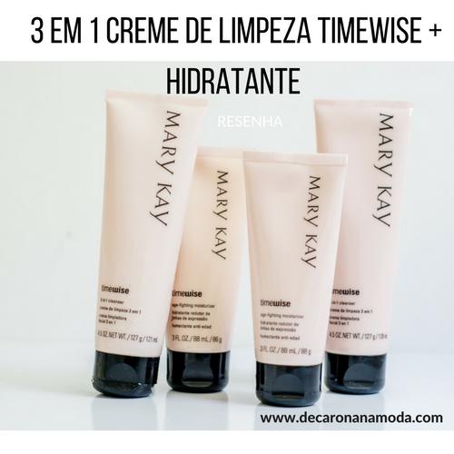 Resenha Kit de Limpeza TimeWise Mary Kay