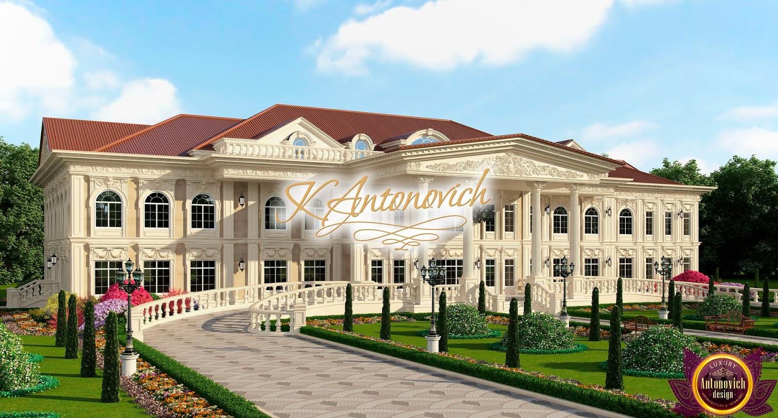 Luxury antonovich design uae house architecture of katrina