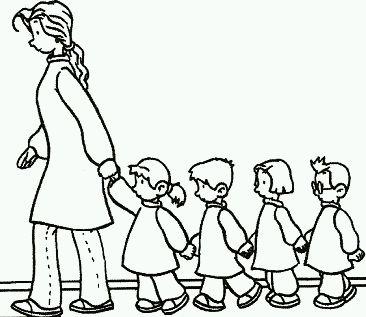 Best Dibujos De Maestras De Preescolar Para Colorear Image Collection