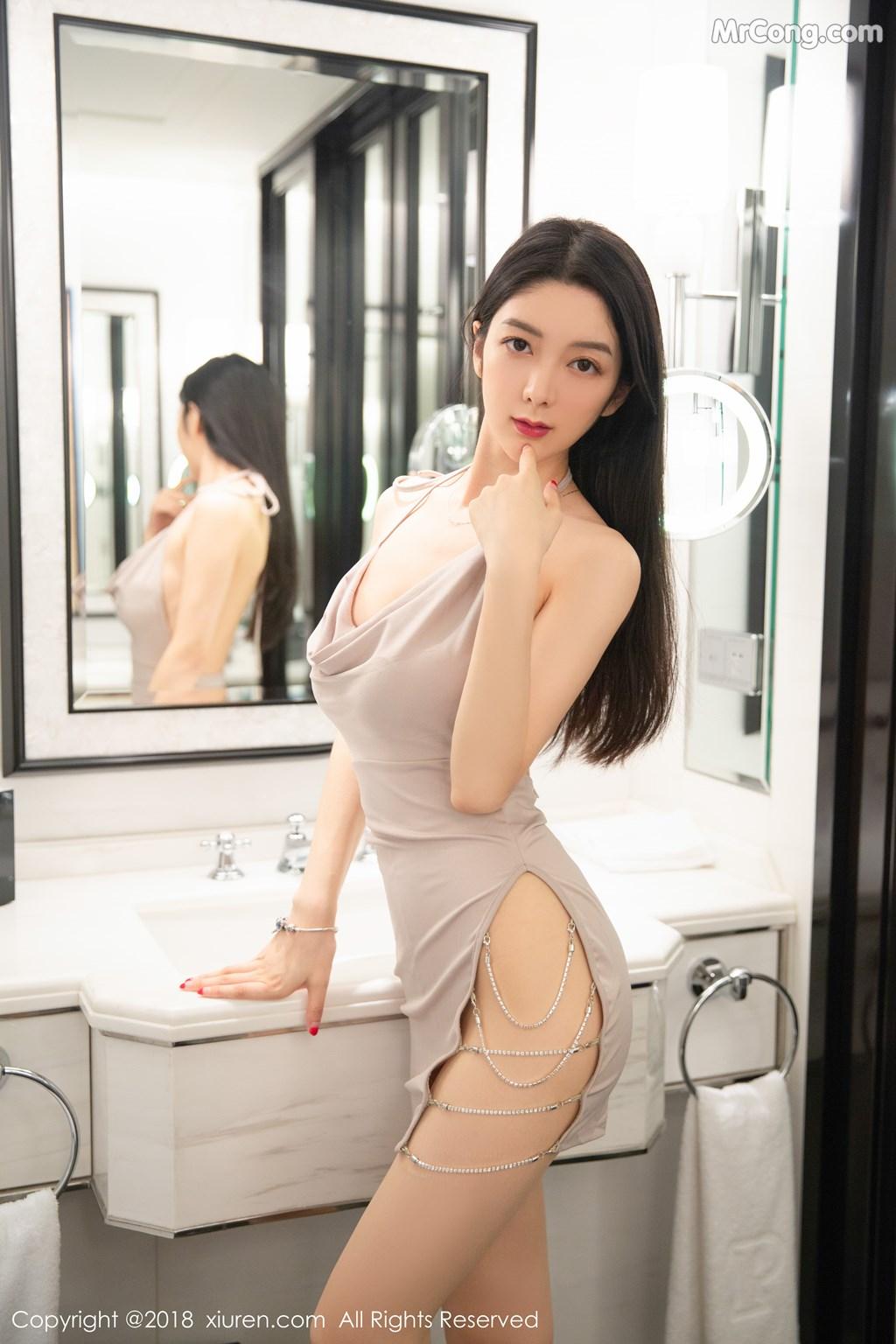 Image XIUREN-No.1141-Xiao-Reba-Angela-MrCong.com-002 in post XIUREN No.1141: Người mẫu Xiao Reba (Angela小热巴) (61 ảnh)