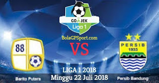 Prediksi Barito Putera vs Persib Bandung - Liga 1 Minggu 22 Juli 2018