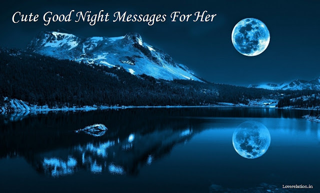 Best Good Night Message For Her