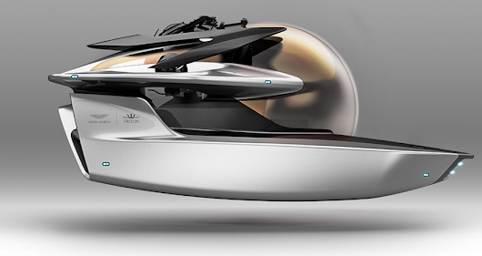 Aston Martin Dives Into the Submarine Business