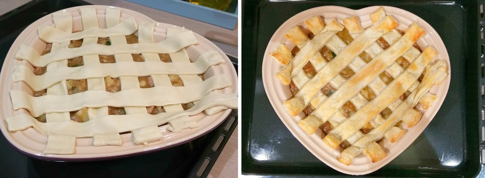 British Pie Week, Lattice Pie, Meat and Potato Pie Recipe