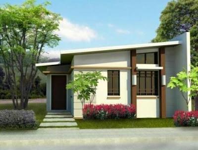 10 Desain Rumah Semi Permanen Minimalis Terbaru 2018 6