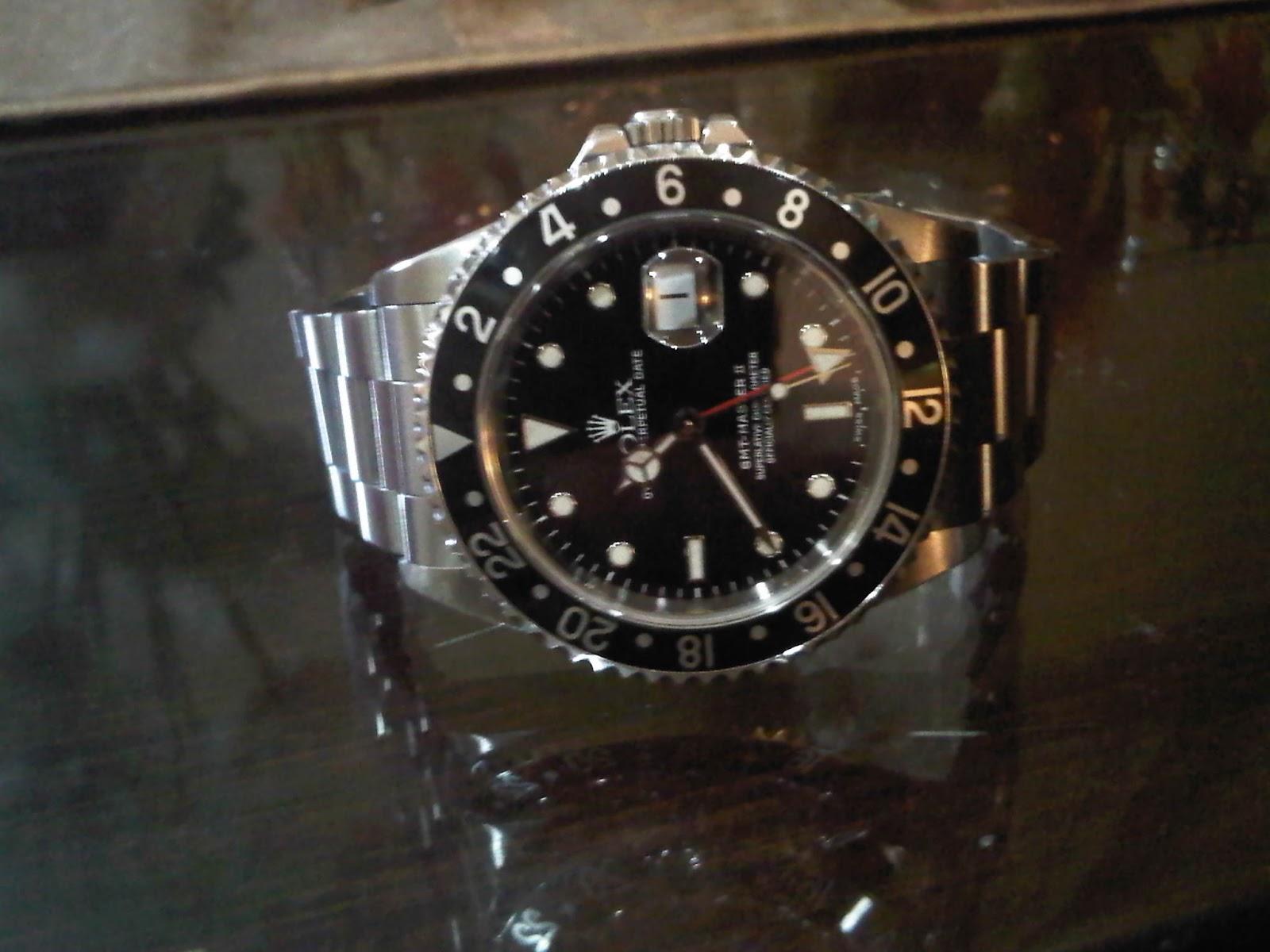 sale $ koleksi jam: Rolex GMT MAster II (16710) tahun 1999