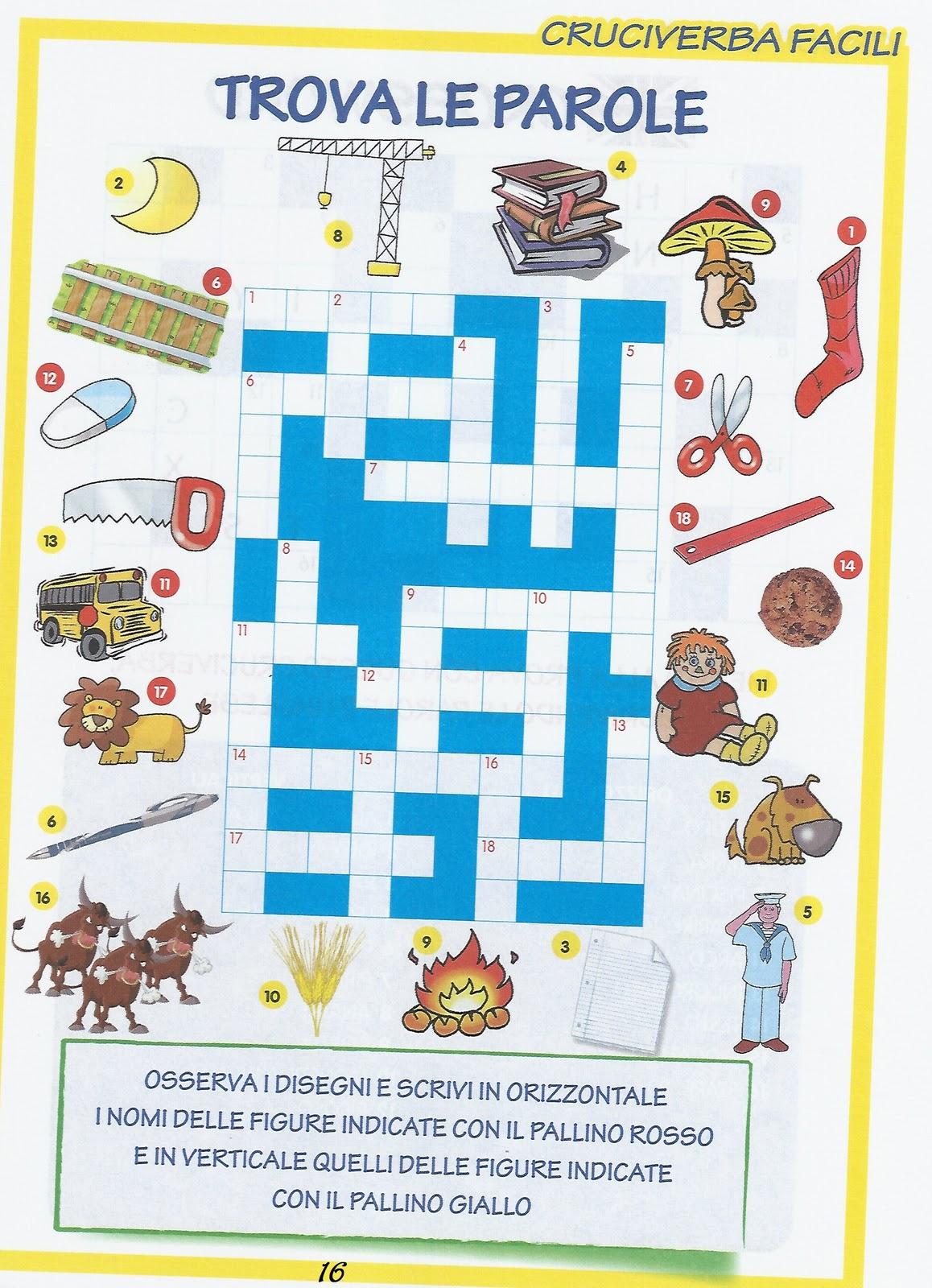 Disegni Da Colorare Giochi Enigmistici Per Bambini Rebus