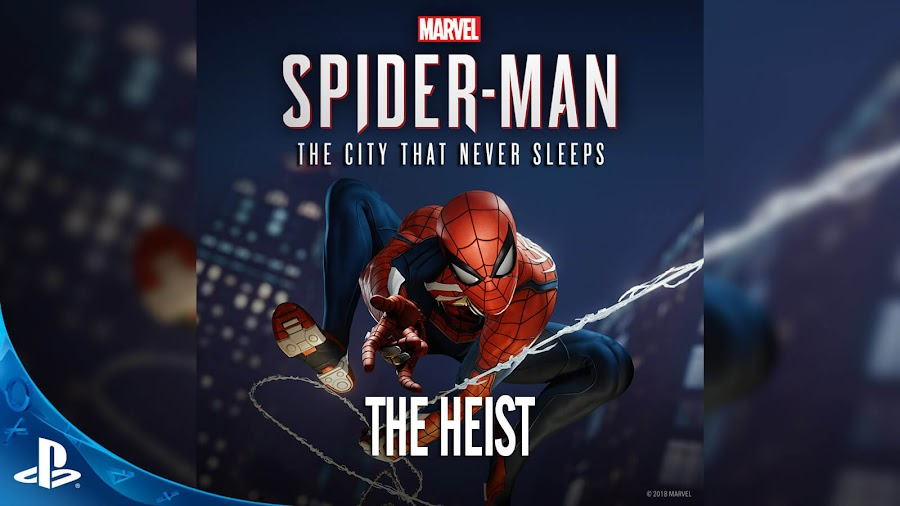 spider man ps4 heist dlc released