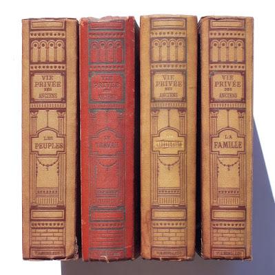 La vita privata degli Antichi - 4 volumi