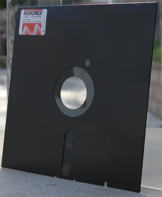 8 inch diskette