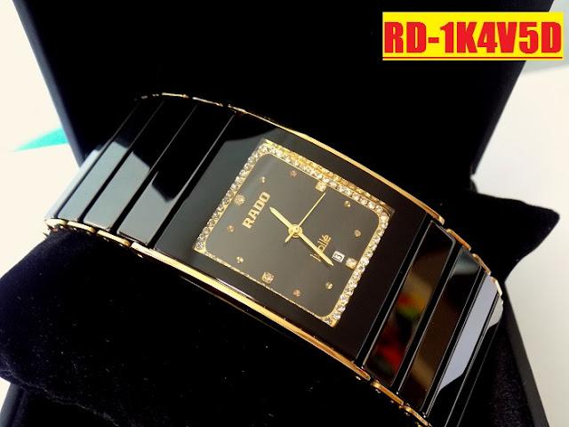 Đồng hồ nam Rado RD 1K4V5D thiết kế tinh xảo, cao cấp, máy Nhật Bản
