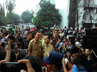 Pemuda Muhamadiyah Meminta Jokowi Segera Menonaktifkan Ahok, Ini Jawaban Jokowi