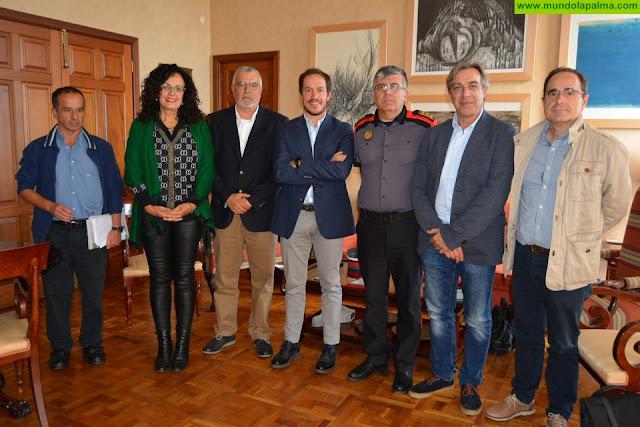 El Cabildo y el Gobierno de Canarias trabajan conjuntamente en materia de seguridad y emergencias