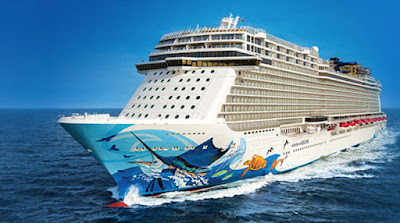 Norwegian Escape - Norwegian Cruise Lines Sails for Bermuda