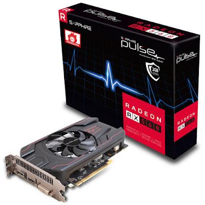 Sapphire Pulse Radeon RX 560 4GD5