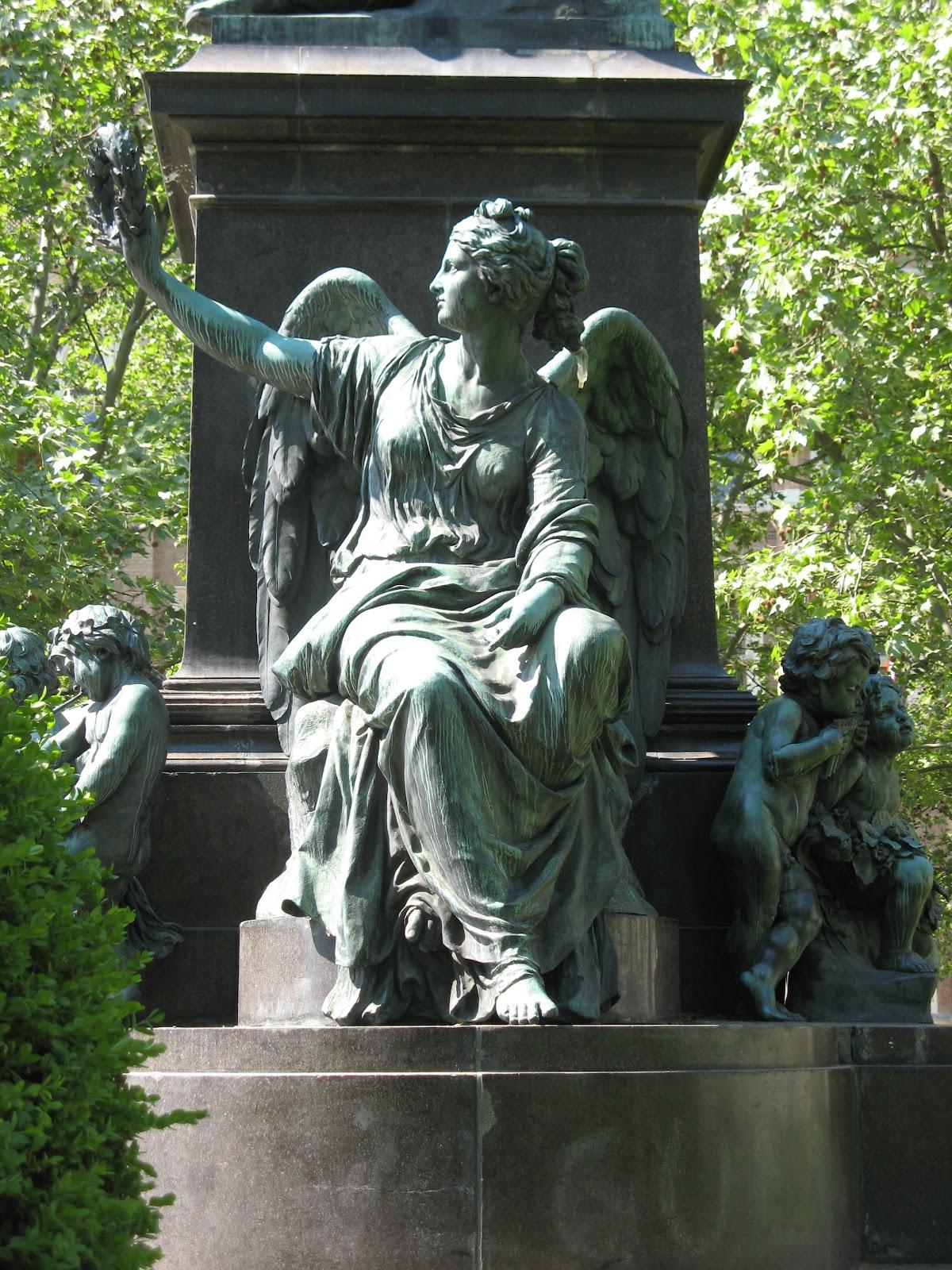 Beethoven Monument, Vienna 1880 | Kaspar von Zumbusch 1830-1915